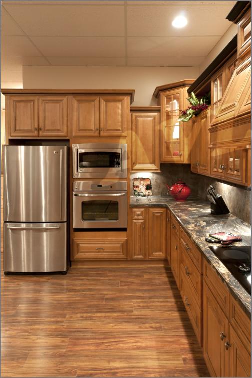 Maple Mocha Glaze Kitchen Cabinets | Wow Blog