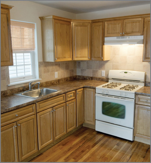 Golden Oak Kitchen Cabinet Kitchen Design Photos Homes Interior